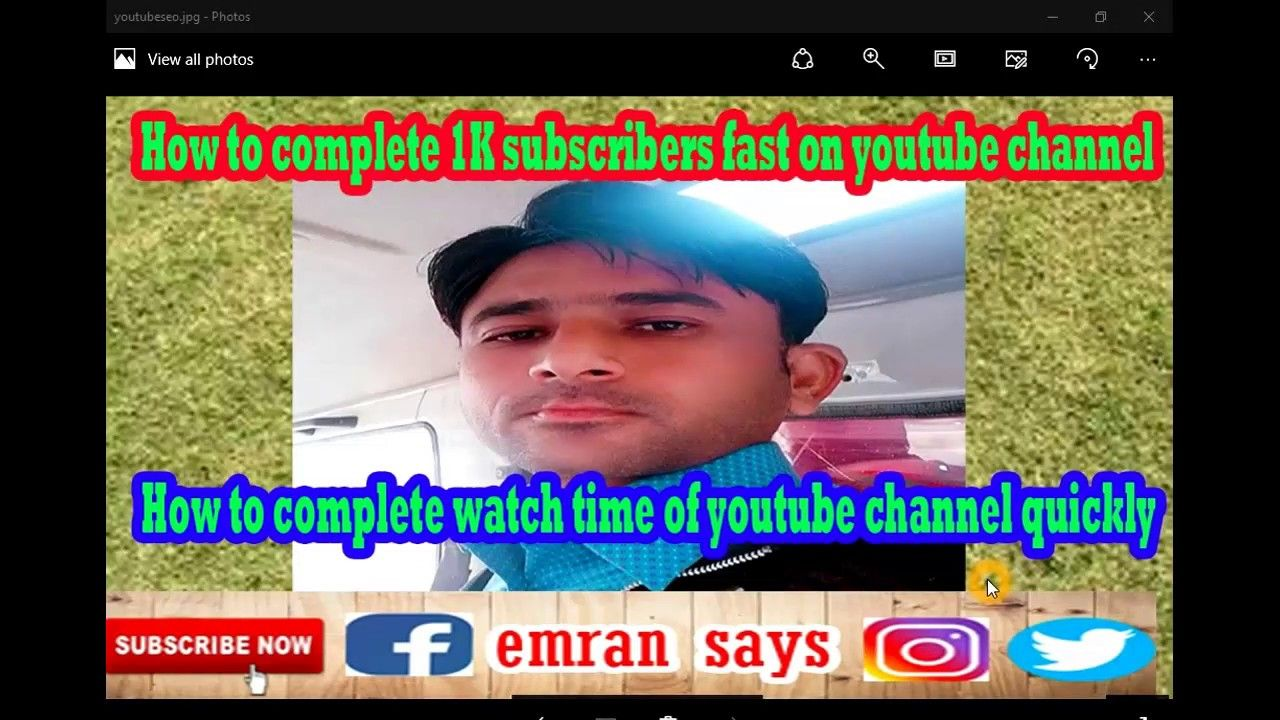 How to complete 1K subscribers on YouTube easily. How to