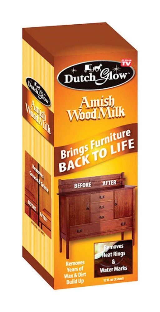 Dutch Glow Amish Wood Milk Restores Liquid Furniture Cleaner Dutchglow Amish Wood Milk Wood Polish Furniture Cleaner