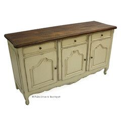 French Country Rustic Sideboard - Ivory