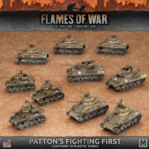 Flames of War 113523: Flames Of War United States American Patton S