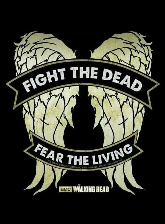 Walking Dead Fight The Dead Fear Pillow Case Two Sides 20