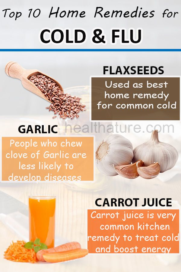 top 10 home remedies for flu