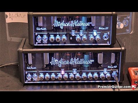 Premier Guitar Takes An Exclusive Look At The Hughes Kettner Tubemeister Deluxe Amps At Namm 2016 Hughesandkettner Tubemeister Premierguitar N