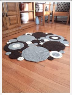 crochet circles inexpensive area