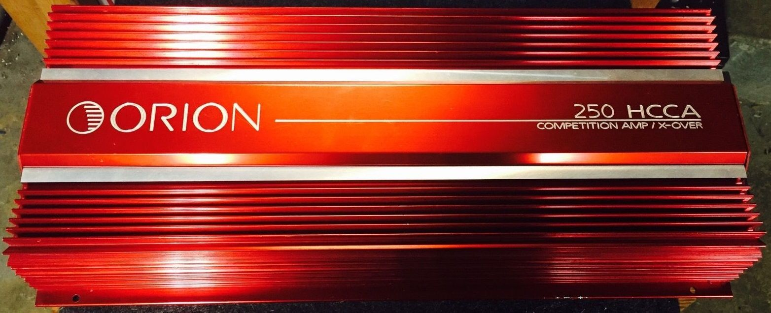 Orion 250 Hcca Competition Amplifier Made In Usa Pro Car Audio