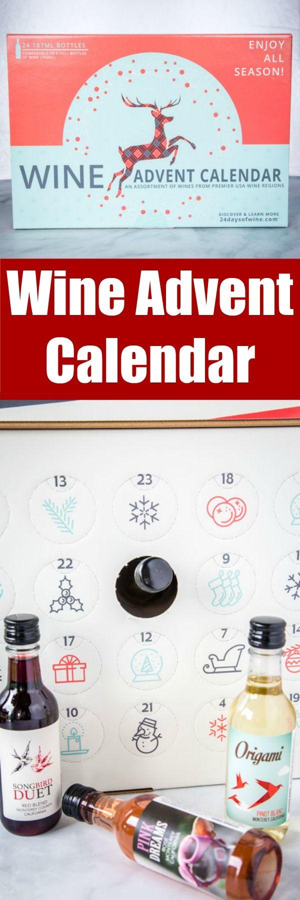 Wine Advent Calendar In 2020 Wine Advent Calendar Fun Drink Recipe Best Christmas Recipes