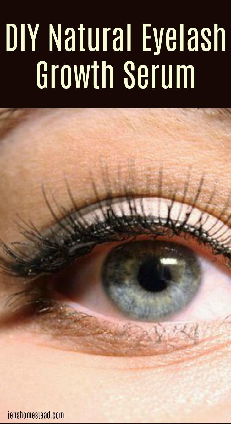 How To Grow Longer Thicker Lashes Diy Natural Eyelash Growth