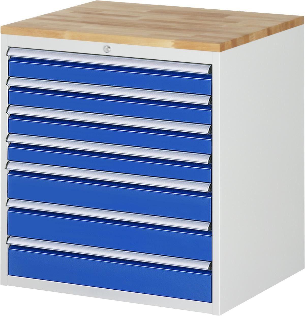Schubladenschrank Serie 7000 Typ Xl5 17a 770x650x825mm Buche Top Vollauszug Schubladenschrank Schubladen Schubladenauszug