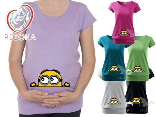 d2b90c90ba7c6 Maternity-clothes-Maternity-Clothing-Peeking-Minion-Minions-Disney-Pixar