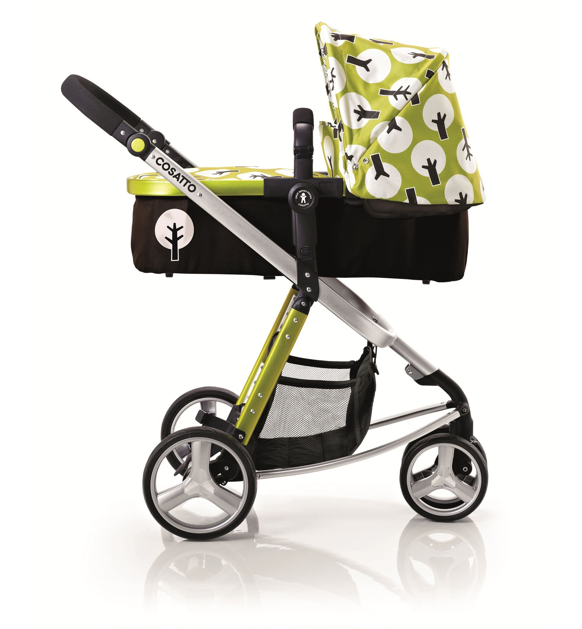 Cosatto Giggle 3 in 1 Pram and Pushchair Treet (With