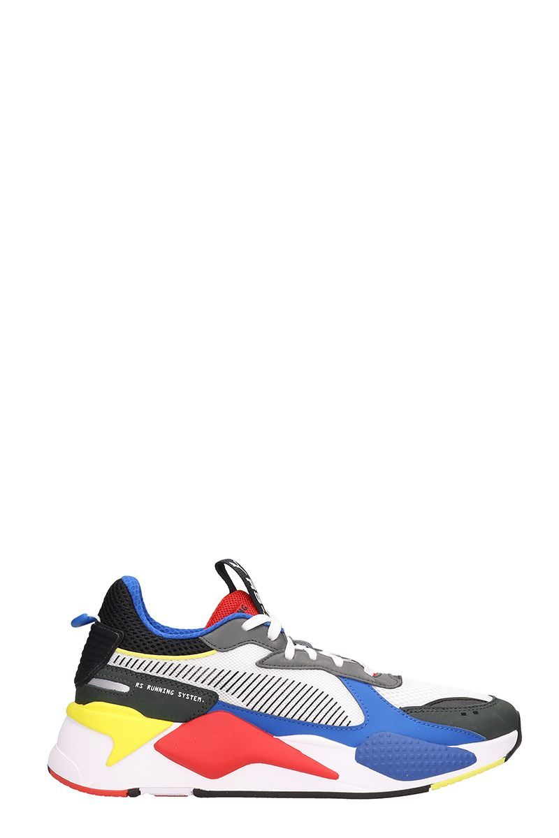 1bfb7439778d PUMA RS-X SNEAKERS IN MULTICOLOR FABRIC.  puma  shoes