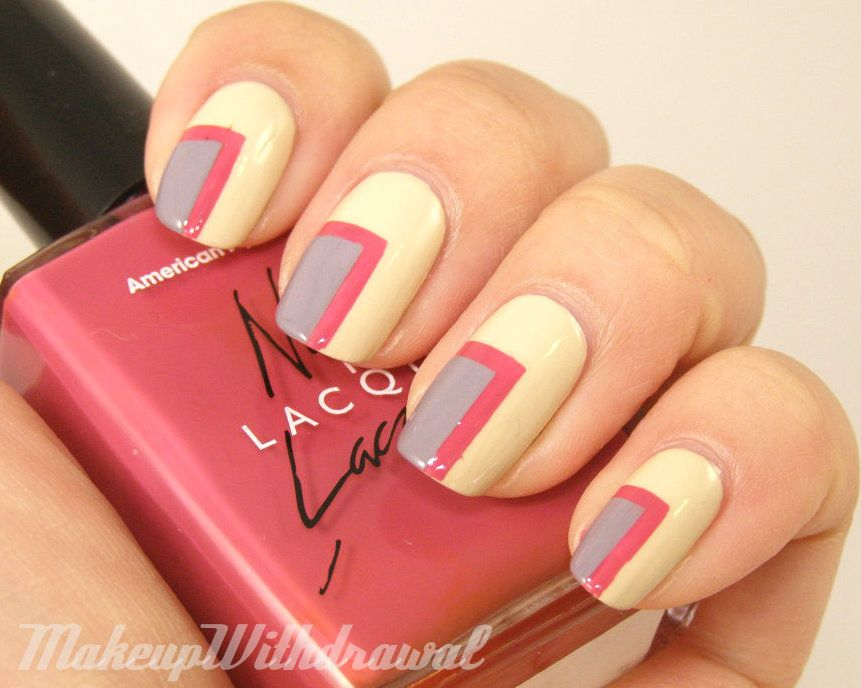 Makeup Withdrawal: Right Angle Corner Manicure