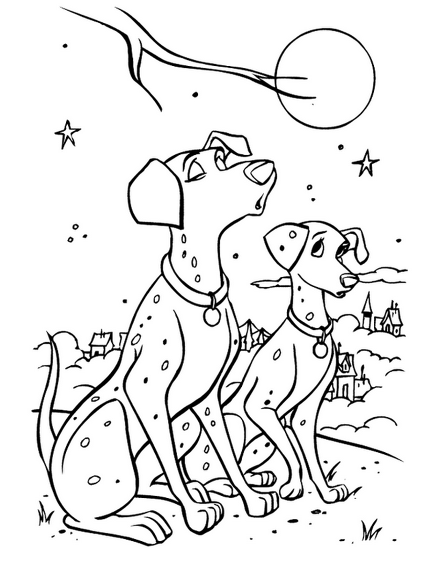 101 Dalmatians coloring page | Coloring pages and Printables ...