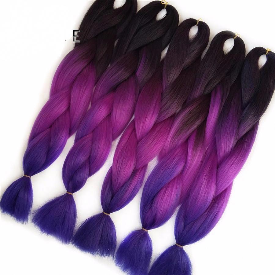Box Braids with Mild Purple Color #boxbraidsnearme #bobboxbraidsstyles