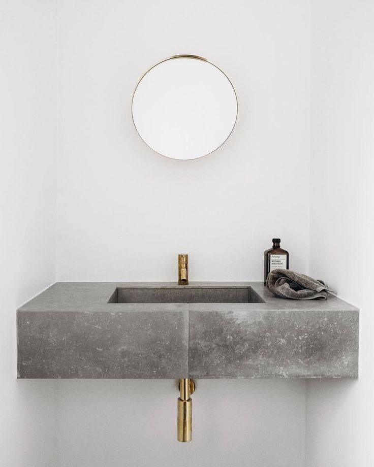 Wash Basin Ideas Bycocoon Com Bathroom Faucet Sink Design Golden Tap Ware Designer Bath Bathroom Interior Design Concrete Interiors Minimalist Bathroom