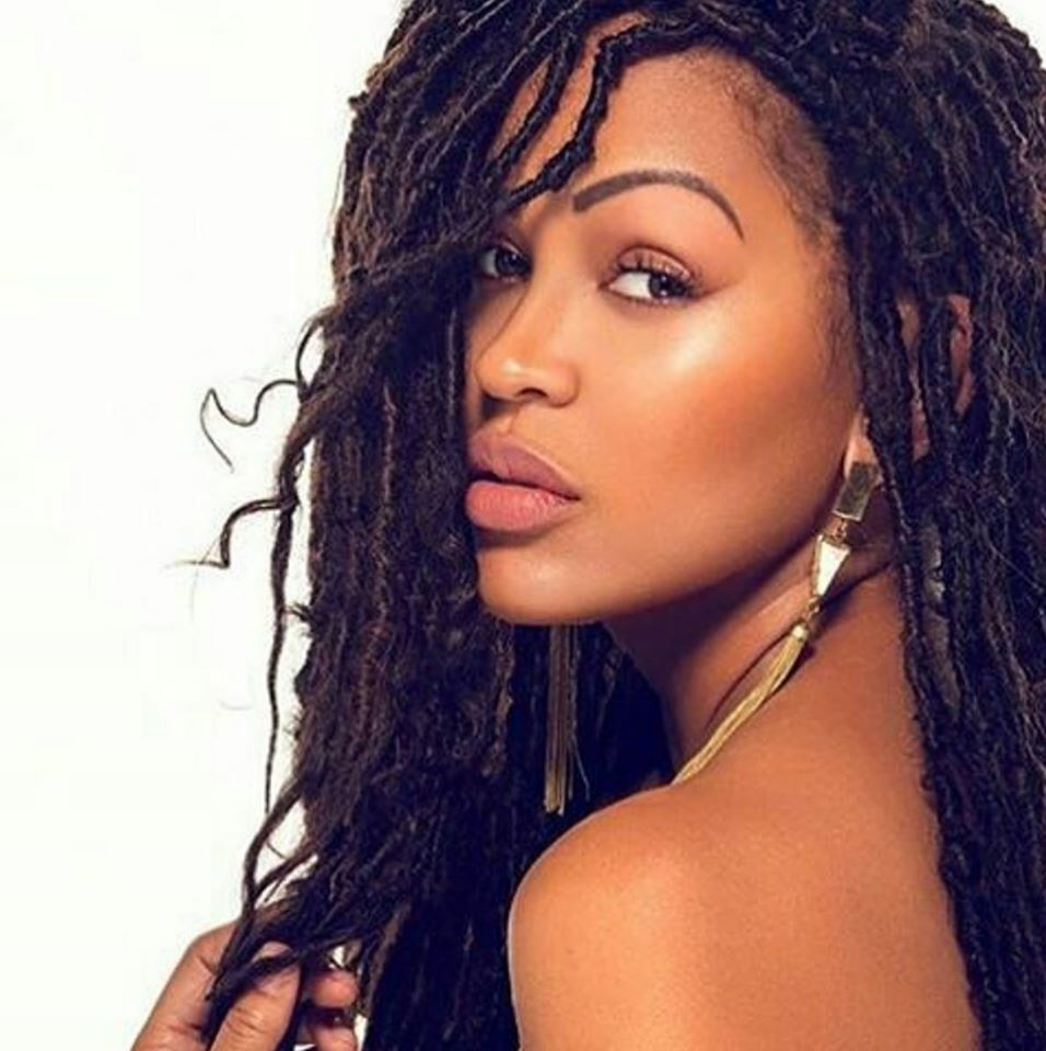 Lovely faux locs on meagan good styled by drkariwill lovely faux locs on meagan good styled by drkariwill naturalhairmag baditri Images