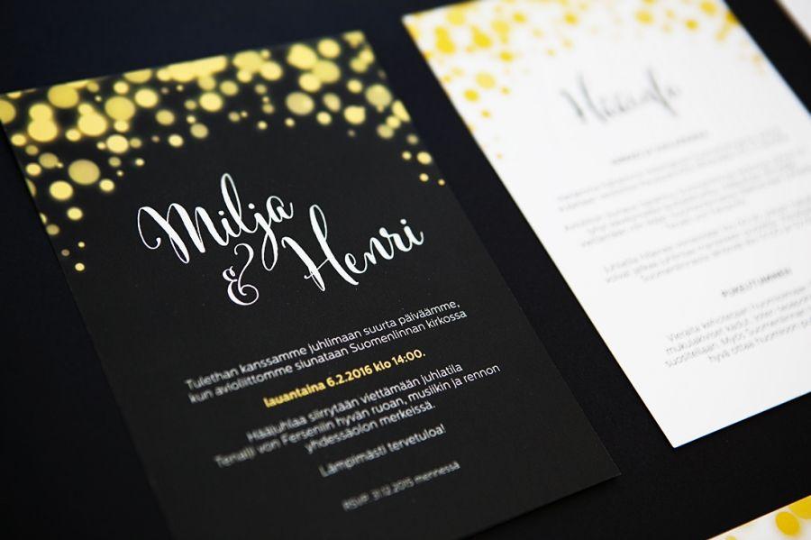 Wedding invitations Hääkutsut MakeaDesign