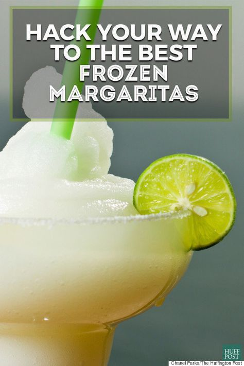 Here's Why You Shouldn't Make Frozen Margaritas With Fresh Lime Juice #frozenmargaritarecipes