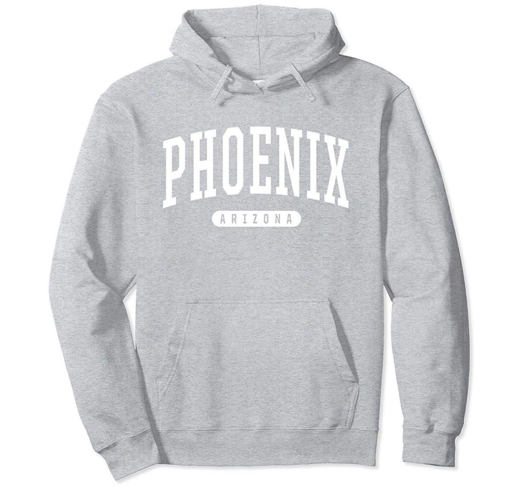 Phoenix Hoodie Sweatshirt College University Style Az Usa Veotee Hoodies Bawle Sweatshirts Hoodie