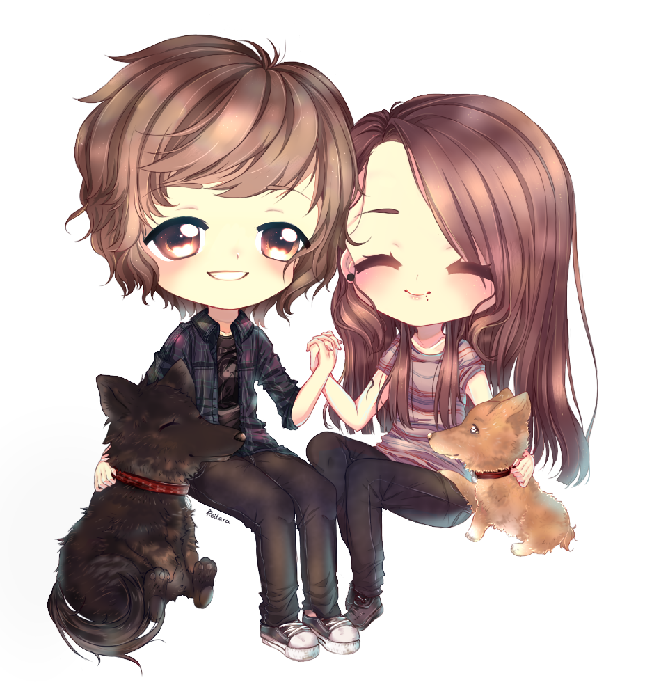 Chibi Family by xKeitara Chibi, Anime chibi, Chibi couple