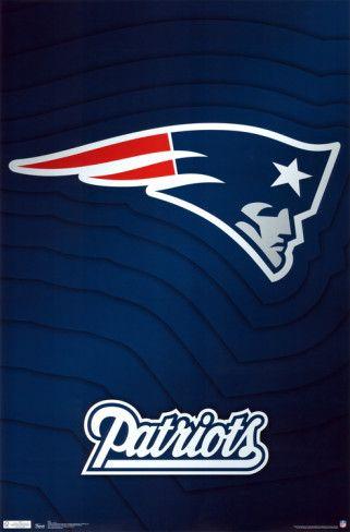New England Patriots Logo Posters Allposters Com New England Patriots Logo New England Patriots England Patriots