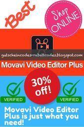 Movavi Video Editor Plus Discount Coupon Code