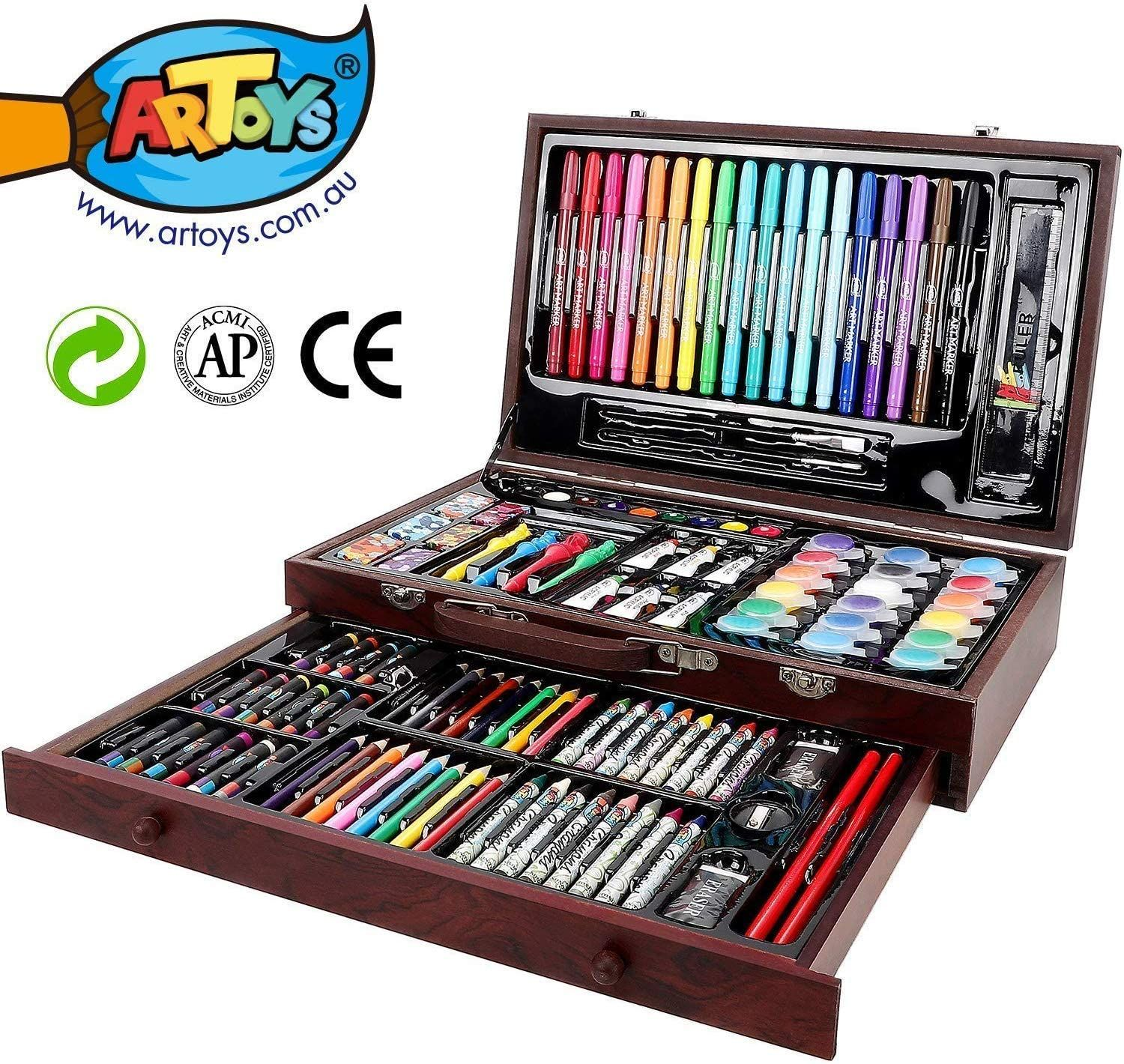Art Set Kit For Kids Teens Adults Supplies Drawing Painting Professional Gift
