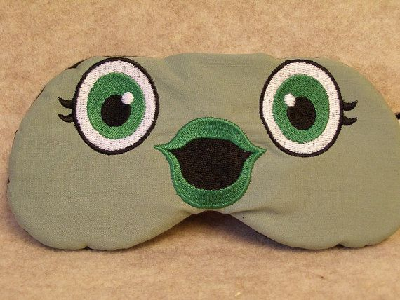 d78c2e36d Embroidered Eye Mask for Sleeping