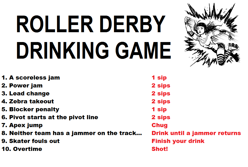 Watch A Roller Derby Bout With Beers And Friends And Follow These Rules Roller Derby Roller Derby Art Derby Skates