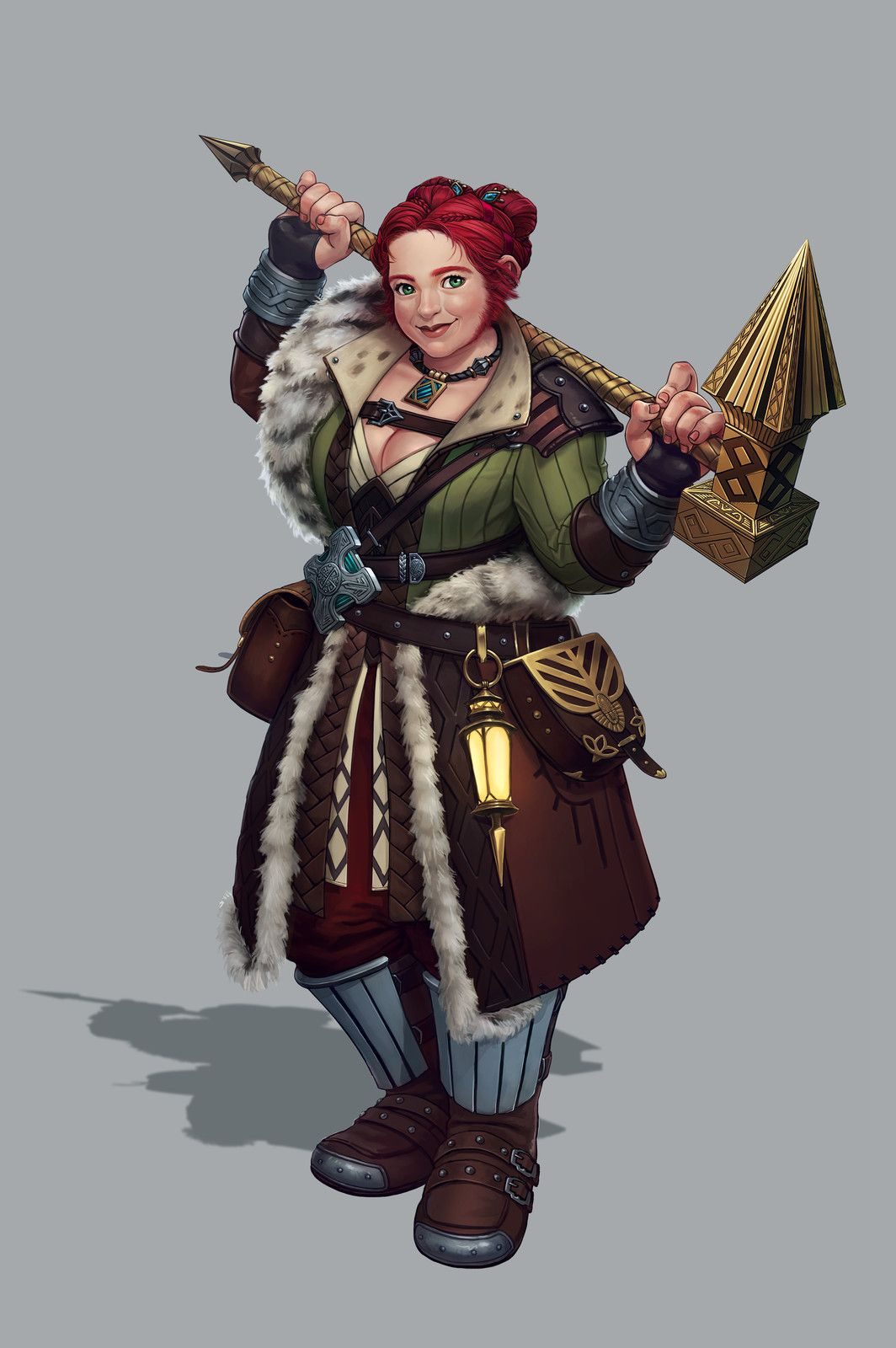 Dwarf, Jinju Choi on ArtStation at https://www.artstation.com/artwork/PPBLr   Fantasy dwarf ...