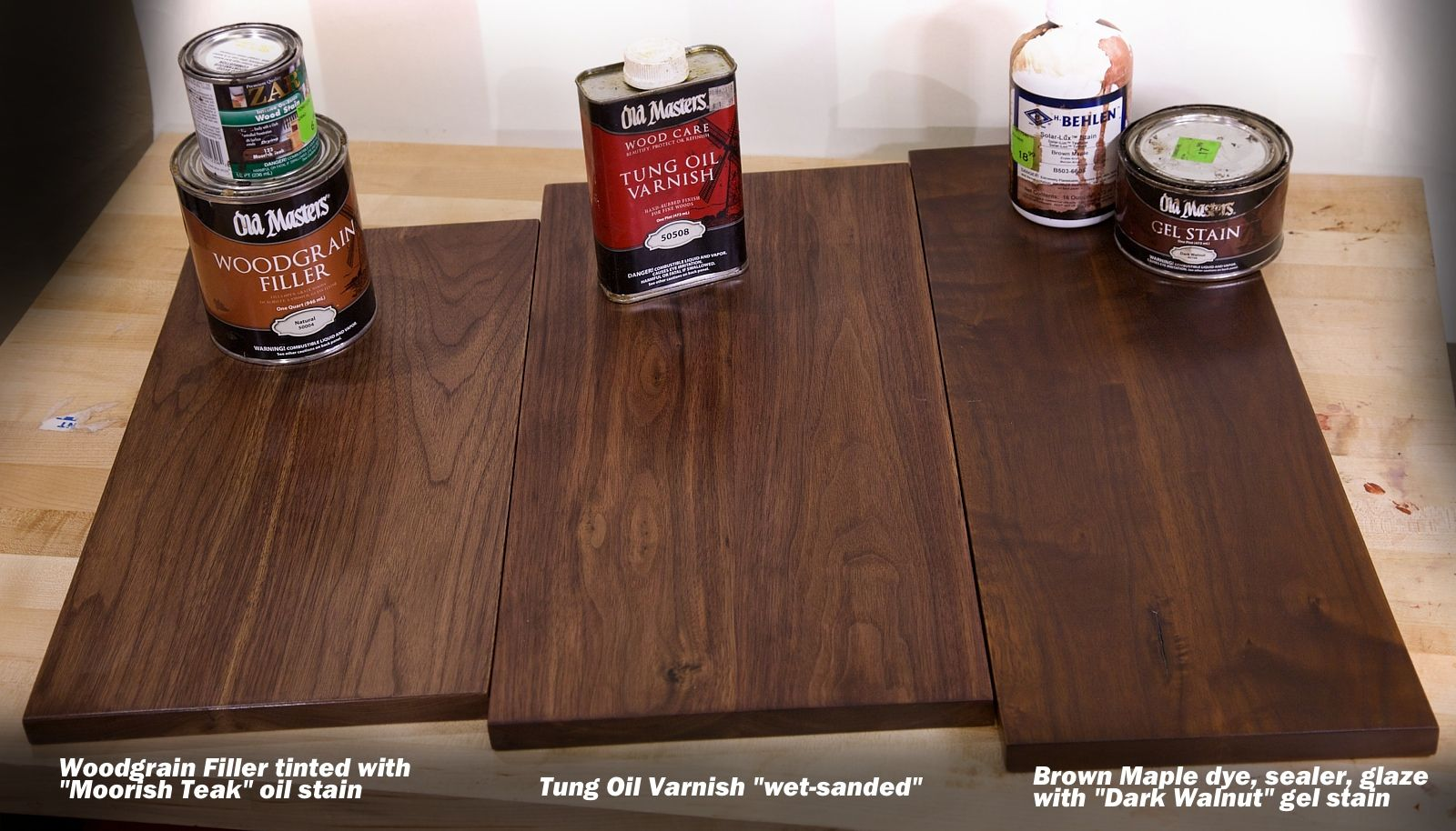 3 Tricks For A Beautiful Walnut Wood Finish Woodworkers Source
