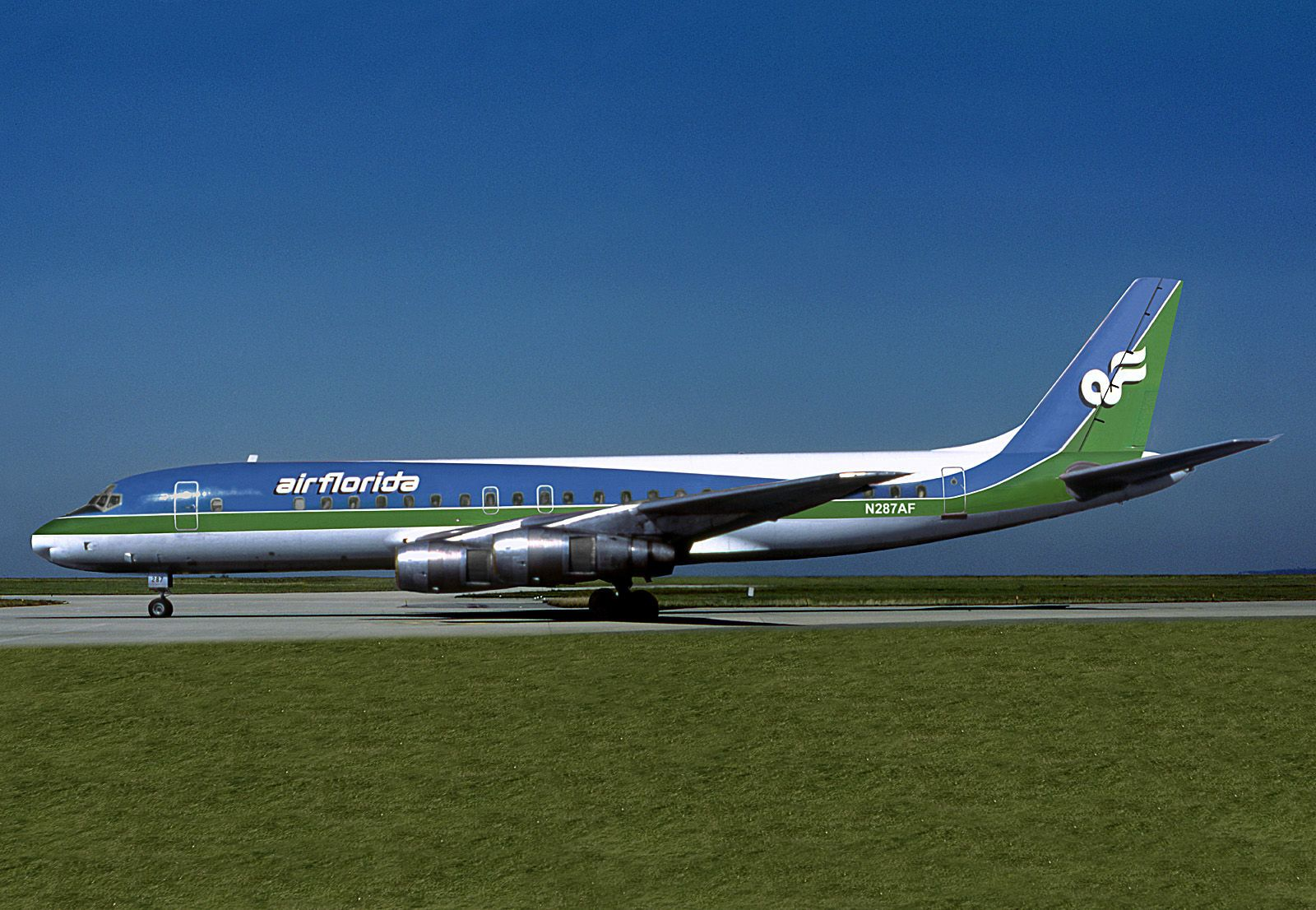 Faithful Foto-ak-boeing-707-flugzeug-airplane High Resilience Motive