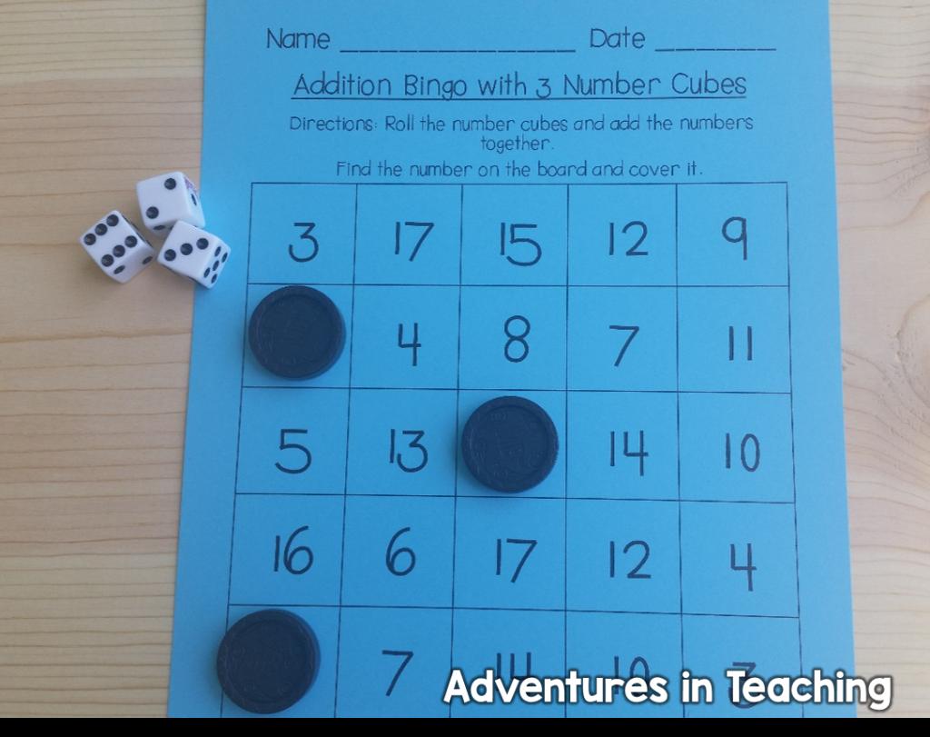 First Grade Classroom Build Math Stations Buddy Games
