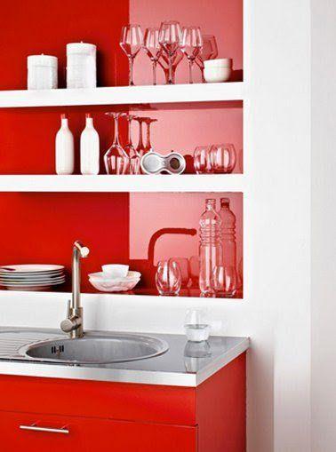 Refaire sa cuisine pas cher  Le must des idées faciles Salons - comment accrocher un meuble de cuisine au mur