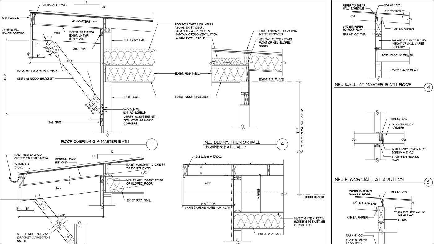 Architectural Cad Drawings