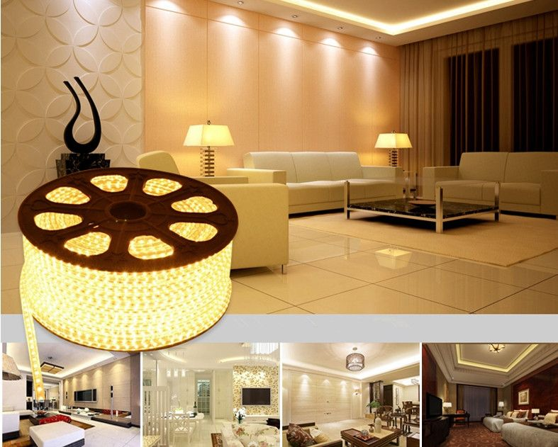 Smd5050 Warm White Led Rope Light Best For Decorating Your Room