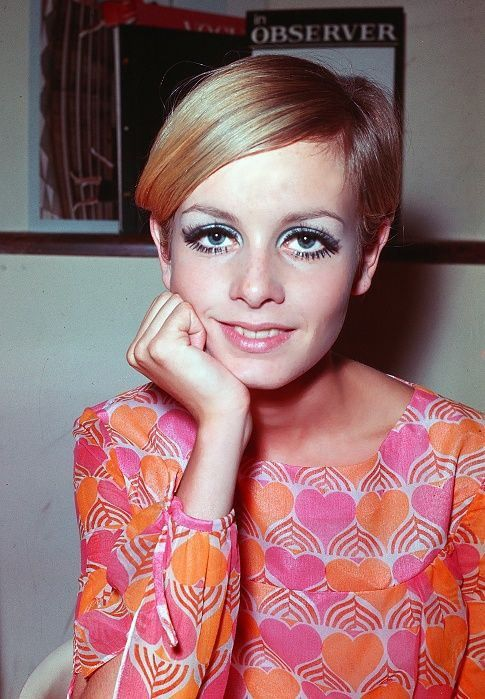 Fashion model Twiggy is shown in London, England, 1967. (AP Photo)