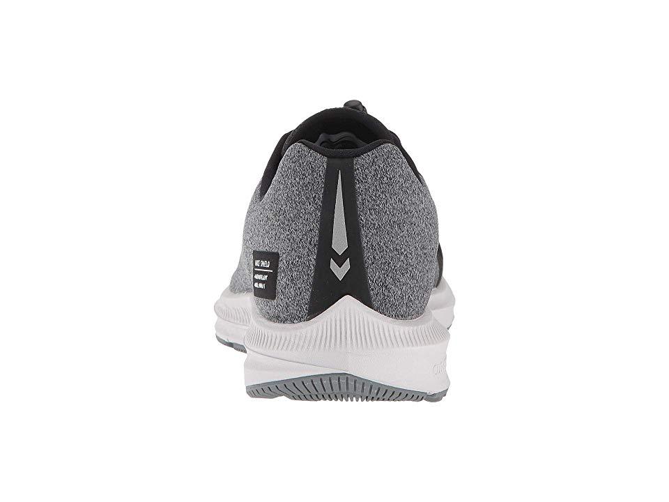 7a667b51607f4 Nike Air Zoom WInflo 5 Run Shield Women s Running Shoes Black Metallic  Silver Cool Grey