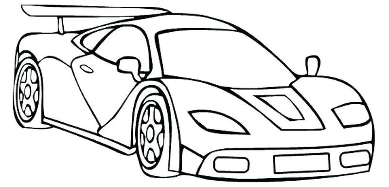 Free Printable Race Cars Coloring Pages Born Koretojer Tegning