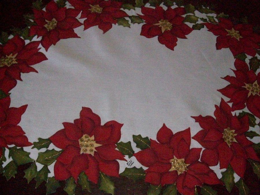 Flores de navidad para pintar en tela buscar con google - Motivos navidenos para pintar en tela ...