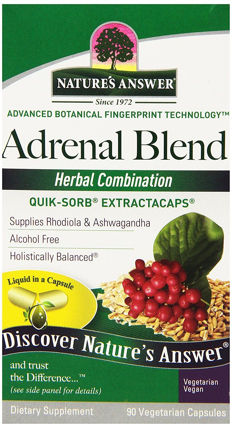 Nature S Answer Extractacaps Nutritional Supplement Adrenal Stress Away 90 Count New And Awesome Product Awaits You Read It Adrenal Stress Herbalism Red Raspberry Leaf