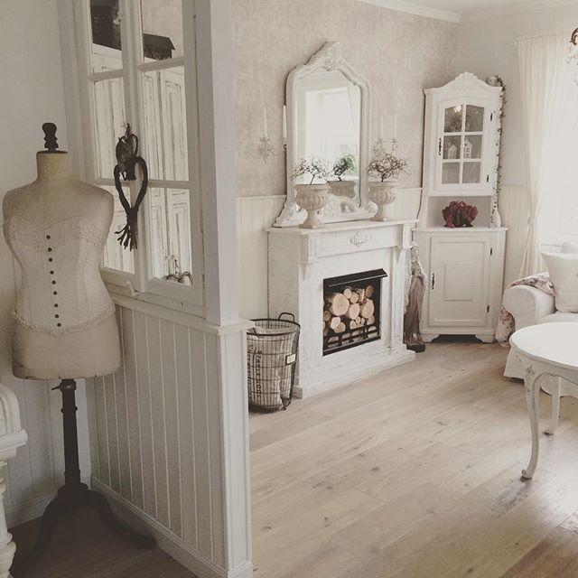 Shabby and charme una splendida villa in svezia camere for Arredamento svedese