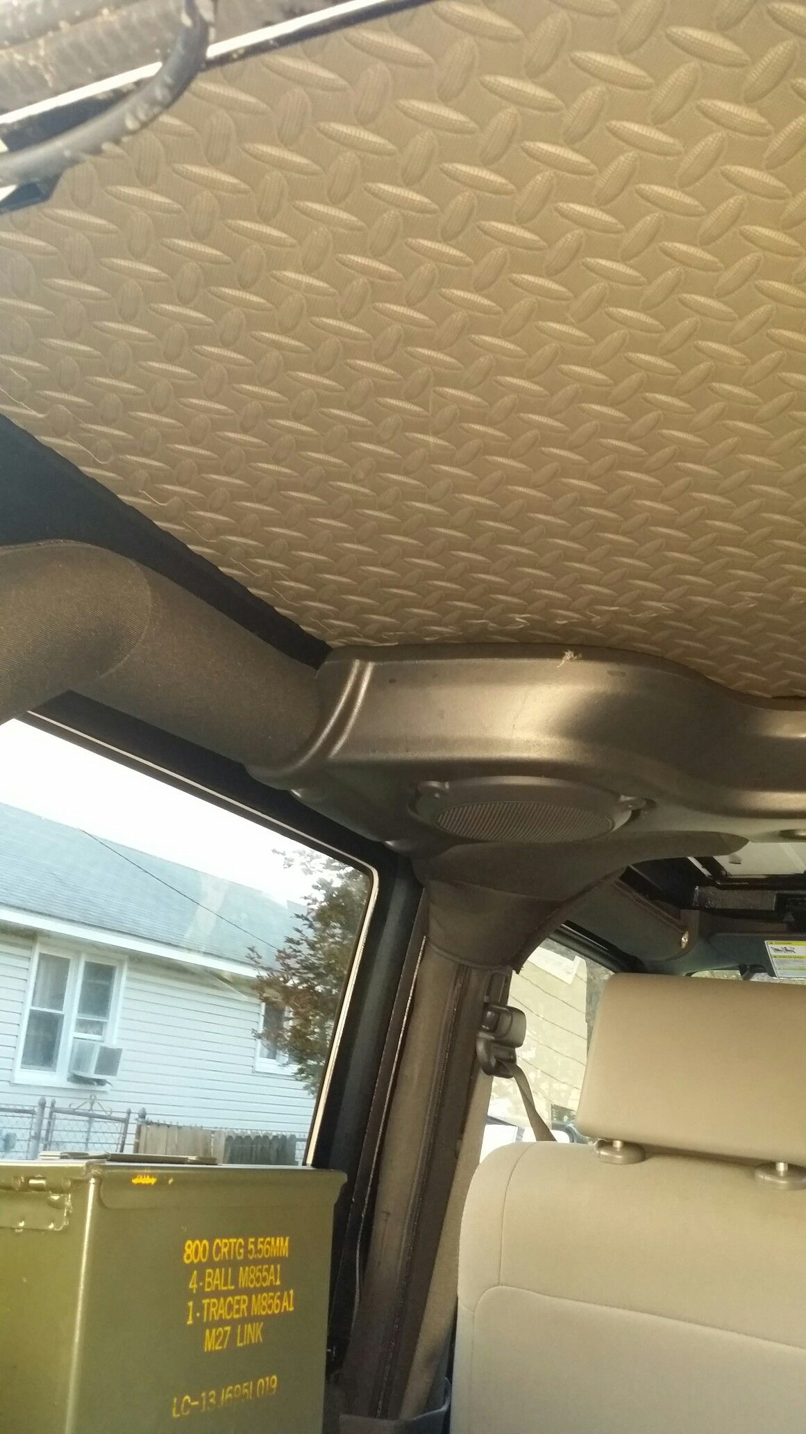 Diy Foam Insulation On My Hard Top Jeep Jk Jeep Jeep