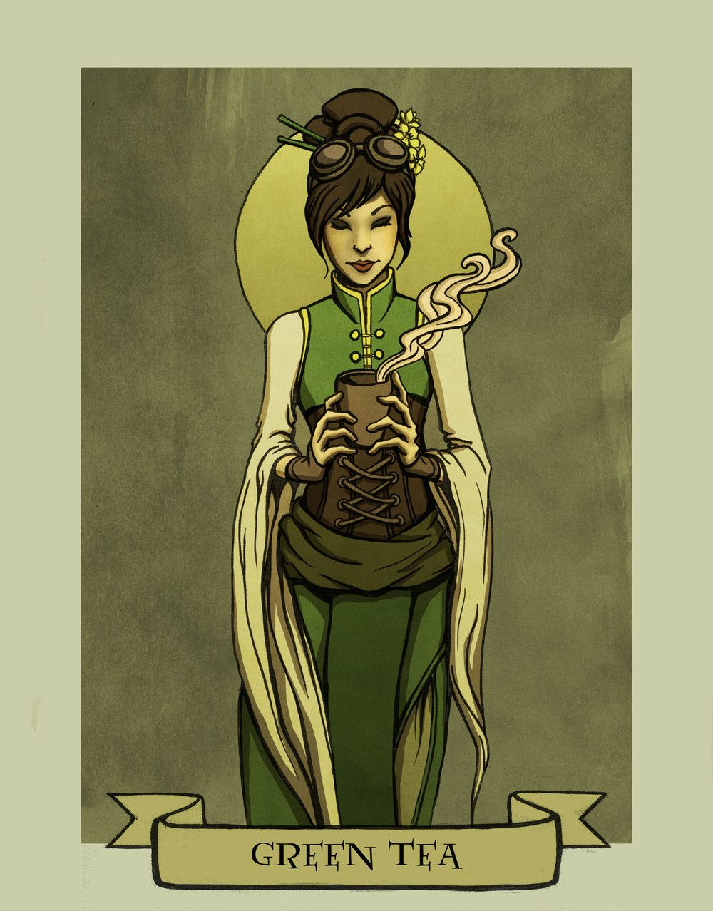 Green Tea Prints are here: http://www.inprnt.com/gallery/madalynmcleod/green-tea/