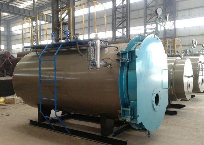 5 ton industrial gas diesel oil fired steam boiler for
