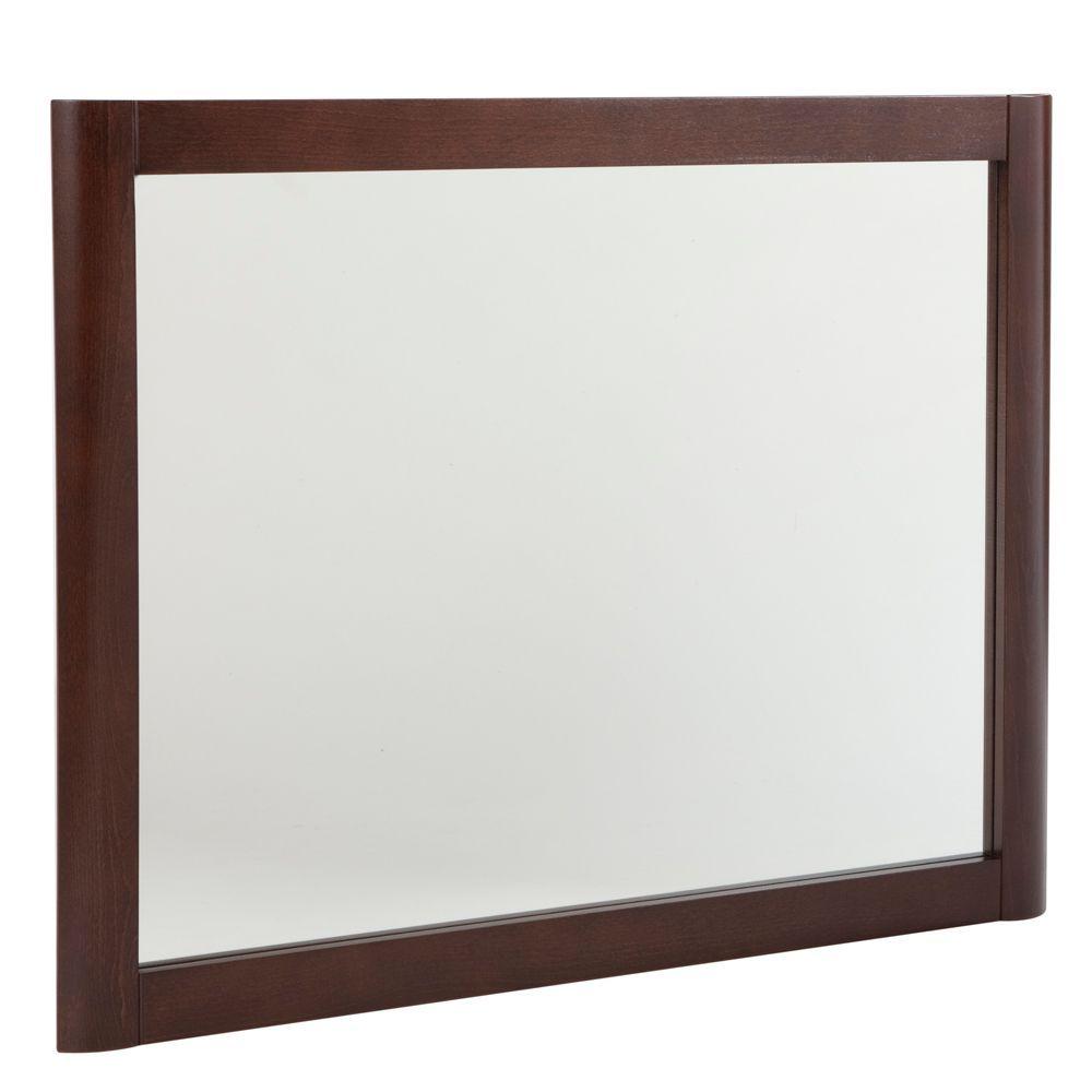 Madeline Wall Mirror In Chestnut · Medicine Cabinet ...
