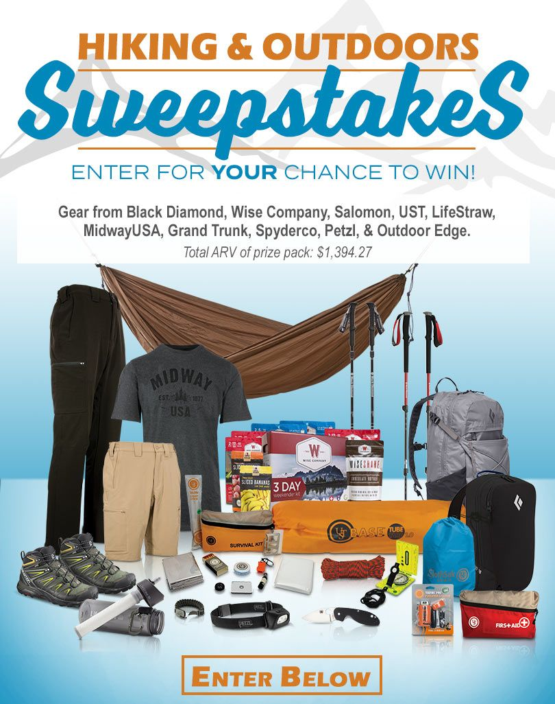 Outdoor gear sweepstakes 2018