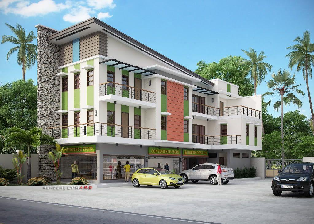 2 3 4 Storey Page 2 Commercial Building Plans Building Design Small Apartment Building