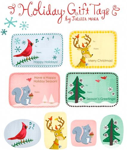 Lots of links to cute printable and free christmas gift tags lots of links to cute printable and free christmas gift tags via skiptomylou negle Gallery