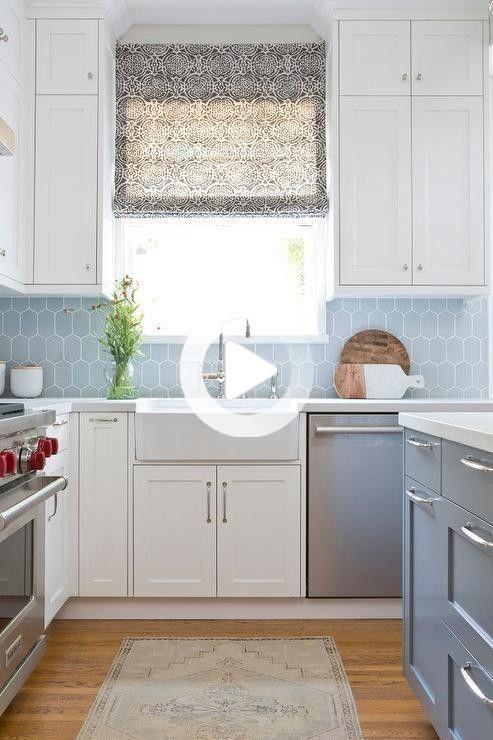white kitchen cabinets with blue backsplash design ideas to lowes kitc